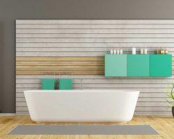 photo d'une jolie salle de bain